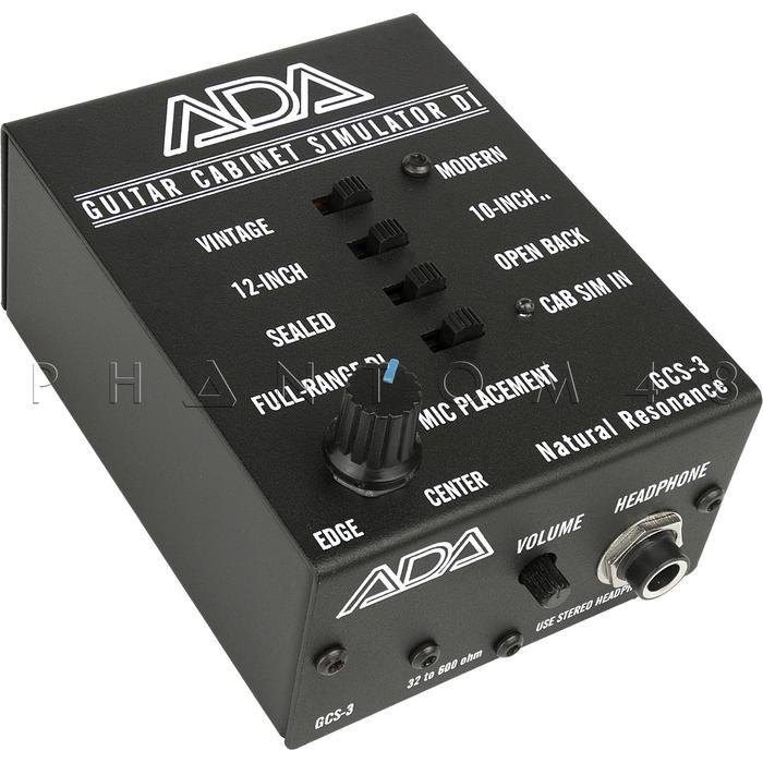 ada amplification gcs 3 guitar cabinet speaker simulator di direct box gcs3 new 854304005120 ebay. Black Bedroom Furniture Sets. Home Design Ideas